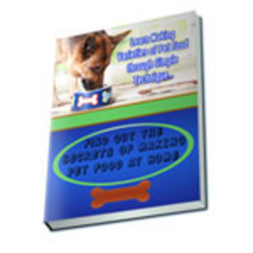 Pay for Make Pet Food at Home