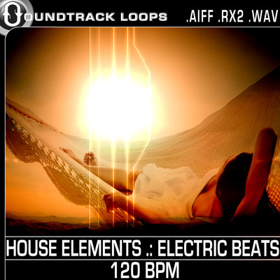 Thumbnail HOUSE ELEMENTS  ELECTRIC BEATS 120 BPM Apple Loops .aiff .zip