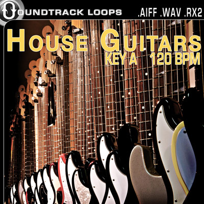 Thumbnail House Elements House Guitars Key A 120BPM  Apple Acid and Recycle loops