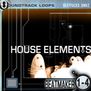Thumbnail HOUSE ELEMENT BeatMaker BeatPacks 1-4 120BPMs Iphone
