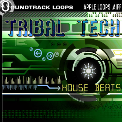 Thumbnail Tribal Tech House Beats Apple Loops .aiff .zip