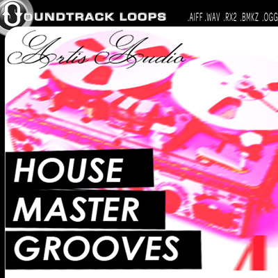 Thumbnail ARTIS AUDIO House Master Grooves Apple Loops AIFF Logic Pro