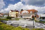 Thumbnail A public area in Slavicin, Zlin district, Moravia, Czech Republic, Europe