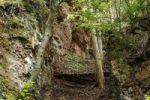 Thumbnail Basalt fissure of Tieschen, east Styrian volcano area, Styria, Austria, Europe