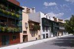 Thumbnail Houses with balconies, Avenida Maritima, Santa Cruz de la Palma, La Palma, Canary Islands, Spain, Europe