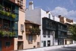 Thumbnail Houses with balconies, Avenida Maritima, Santa Cruz de la Palma, La Palma, Canary Islands, Spain, Europe