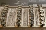 Thumbnail Old cash register with hundreds, tens, ones and tenths keys
