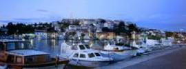 Thumbnail night shot of the port of Vrsar, Istrien, Croatia