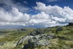 Thumbnail Landscape, cloud formation, Rondane National Park, Norway, Scandinavia, Northern Europe
