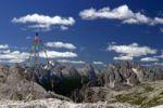 Thumbnail Flags, Parco Naturale Dolomiti di Sesto, Sexten Dolomites, Alps, Italy, Europe