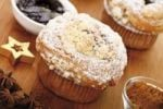 Thumbnail Christmas muffins with cinnamon, anise cookies and plum butter
