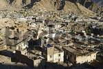 Thumbnail view over the historic center of Leh, Ladakh, Jammu and Kashmir, India
