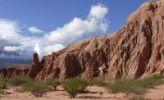 Thumbnail Red sandstone formations, Quebrada del Ro Las Conchas, Cafayate, Salta Province, Andes, Agentina, South America