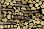 Thumbnail Set firewood near Viechtach Bayerischer Wald Lower Bavaria Germany