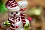 Thumbnail Christmas decoration, figure of a snowman