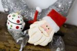 Thumbnail Festive decoration with a figure of Father Christmas