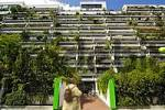 Thumbnail high-rise flats with green concrete balconies Olympiadorf Olympia village Munich