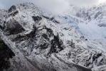 Thumbnail Snow, ice, rock formation on a mountain, Sagarmatha National Park, Khumbu Himal, Nepal, Asia