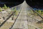 Thumbnail Steel suspension bridge, Dudh Kosi Valley, Solukhumbu, Khumbu, Sagarmatha National Park, Nepal, Asia