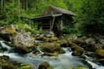 Thumbnail Old mill at the Gollinger Waterfall, Golling, Salzburg, Austria, Europe