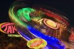 Thumbnail Take off fairground ride at night, Herbstfest fair, Ingolstadt, Bavaria, Germany, Europe