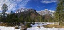 Thumbnail Landscape in Berchtesgaden National Park, mountain landscape, Alps, Berchtesgaden Alps, Germany, Europe