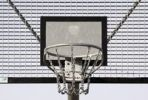 Thumbnail Metall basket for playing basket ball