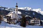 Thumbnail Village in winter, Lermoos, Zugspitz Arena, Tyrol, Austria, Europe
