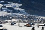 Thumbnail Village in winter, Lermoos, Zugspitz Arena, Tyrol, Austria, Europe