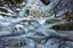 Thumbnail Frozen waterfall in the Black Forest near Falkau, Baden-Wuerttemberg, Germany, Europe