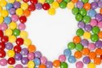 Thumbnail Heart of coloured confectionary