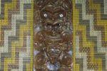 Thumbnail Maori carving, Tongariro National Park, North Island, New Zealand