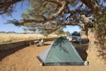 Thumbnail Camping ground at Sesriem Canyon, Republic of Namibia, Africa