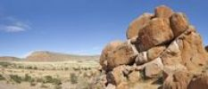 Thumbnail Granite rocks south of Zaris Pass, Namibia, Africa