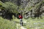 Thumbnail Hiker in volture canyon Yolyn Am Mongolia