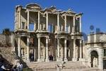 Thumbnail Turkey Ephesus excavation library of Celsus erected 135 AD by C. Aquila as a memorial to this father Celsus