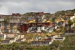 Thumbnail Buildings and temple Ganden Monastery Tibet China