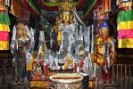Thumbnail Statue of Buddha Sakyamuni in a temple Samye Monastery Tibet China