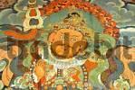 Thumbnail Buddhist wall painting demon Sera Monastery Lhasa Tibet China
