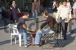 Thumbnail Turkey Kusadasi southern agean coast men playing backgammon