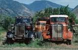 Thumbnail Old trucks, Keremeos, British Columbia, Canada
