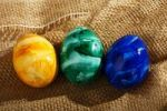Thumbnail Colourful Easter eggs