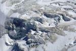 Thumbnail Icefall at the end of a glacier, Theodulgletscher glacier, Zermatt, Valais, Switzerland