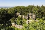 Thumbnail castle ruin Kürnberg near Stamsried , Upper Palatinate , Bavaria Germany