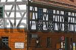 Thumbnail Neualbenreuth , half-timbered house , Stiftland , Upper Palatinate , Bavaria Germany