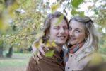 Thumbnail Lovers in autumn