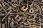 Thumbnail Scrap metal collection to recycle, format-filling