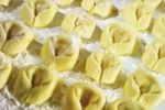 Thumbnail Homemade ravioli on a floured board