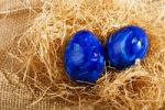 Thumbnail Easter eggs on straw