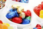 Thumbnail Colourful chocolate Easter eggs